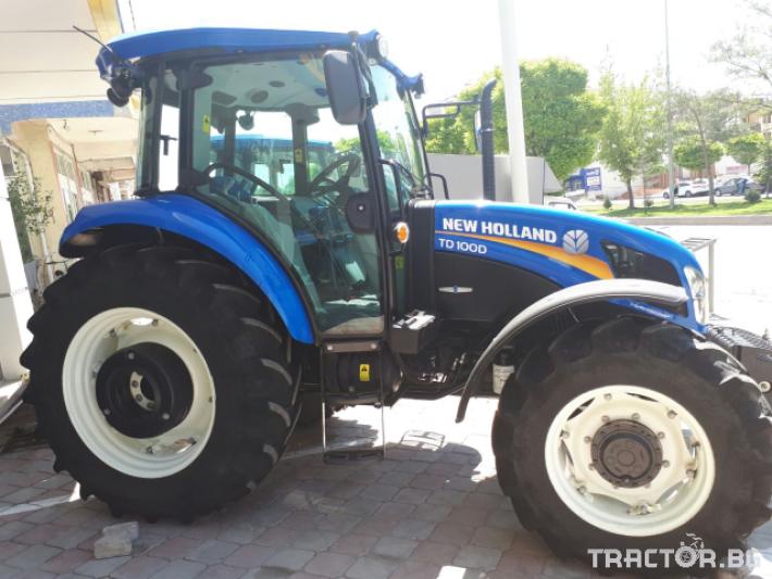 Трактори New Holland TD100D + Gaspardo 0