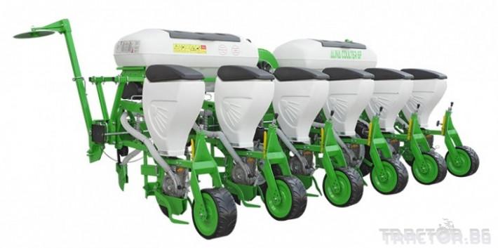 Трактори New Holland TD100D + Gaspardo 1